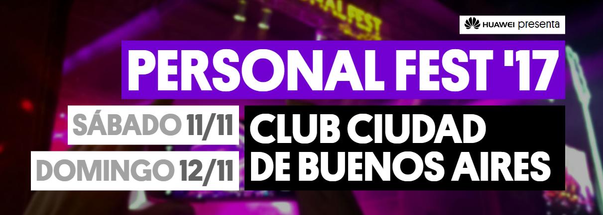 Photo of Se viene el Personal Fest: 11 y 12 de noviembre en Club Ciudad