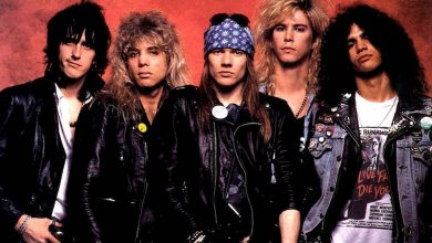 "Photo of Guns N' Roses lanzó un video inédito de ""It's so Easy"""