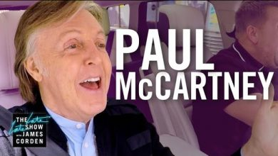 Photo of Mirá el emotivo carpool karaoke de Paul McCartney