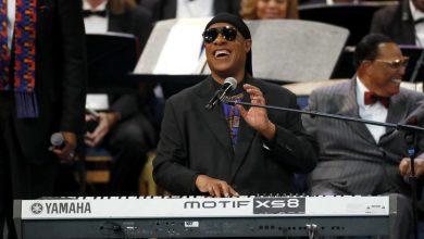 Photo of Mirá la gran presentación de Stevie Wonder en el funeral de Aretha Franklin