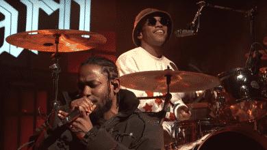 """Photo of Mirá a Kendrick Lamar y Anderson Paak tocar en vivo su nuevo single """"Tints"""""""