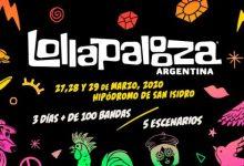 Photo of Se dieron a conocer los sideshows del Lollapalooza 2020