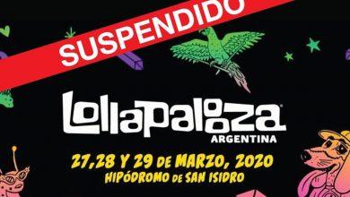 Photo of Lollapalooza Argentina 2020: suspendido por el coronavirus